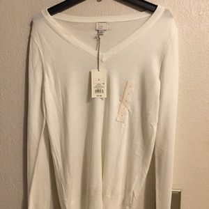 A new day ladies sweater blouse S